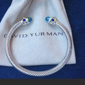 Jewelry - David Yurman renaissance blue topaz